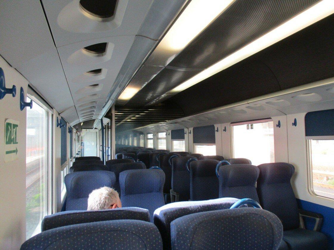 The Train Messina-Taormina