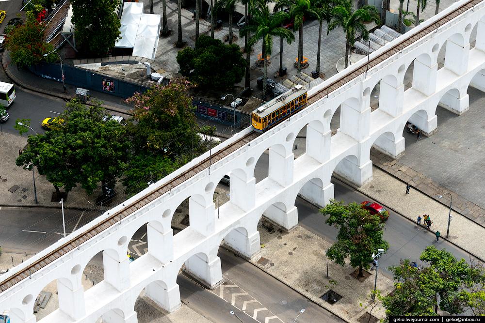 Рио-де-Жанейро Акведук Кариока.