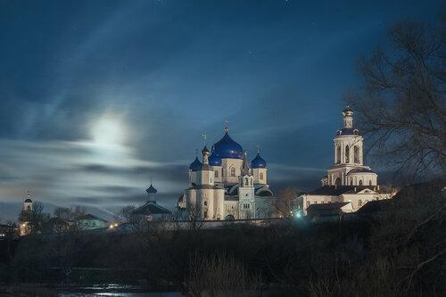 Лунная ночь в Боголюбово