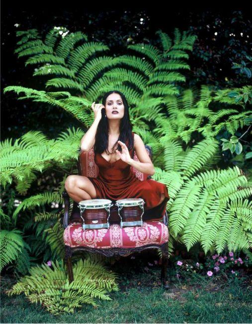 Сальма Хайек — лучшее из фотосессий