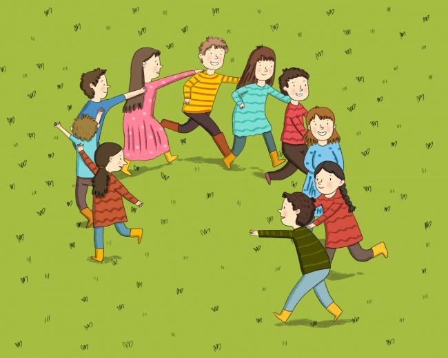 Количество участников: чем больше— тем лучше Что понадобится: ничего Правила игры: все выстраиваютс