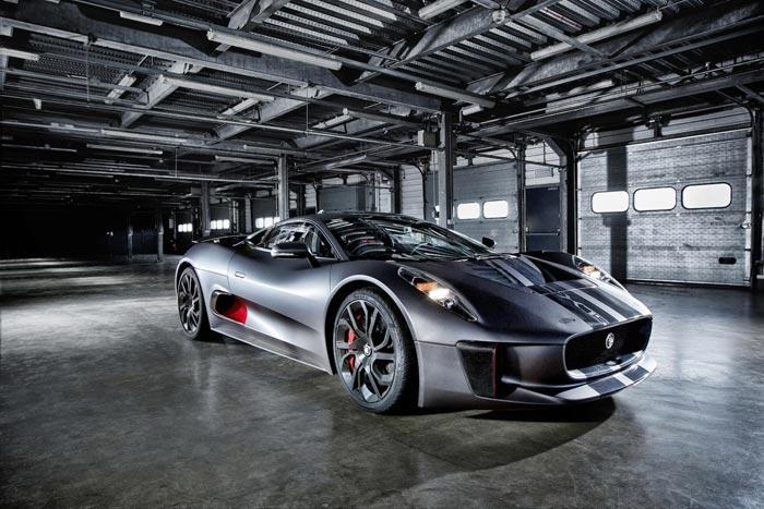 7. Jaguar C-X75 Такой «Ягуар» всего один в мире. В серию он не пошел из-за того, что компания усомни