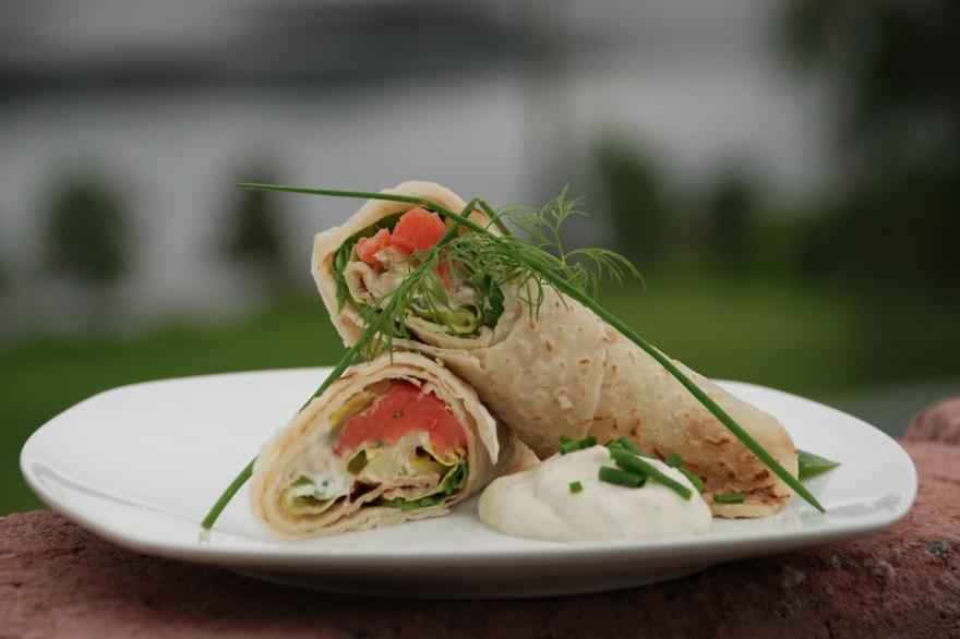 19. Норвегия Зимой норвежцы чаще всего едят ракфиск. Готовится это блюдо из соленой, забродившей фор