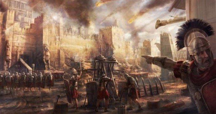 4. Заградительные отряды Всякий раз, когда римляне осаждали город, они отправляли специальную воинск
