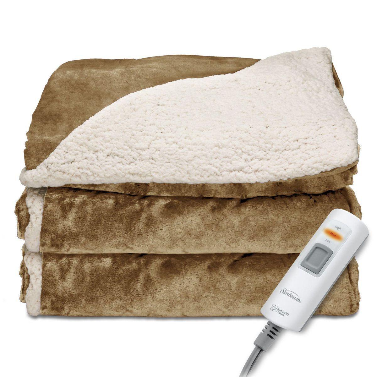 5. Одеяло с подогревом.