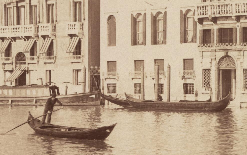 10. Гранд-канал. 1870 год.