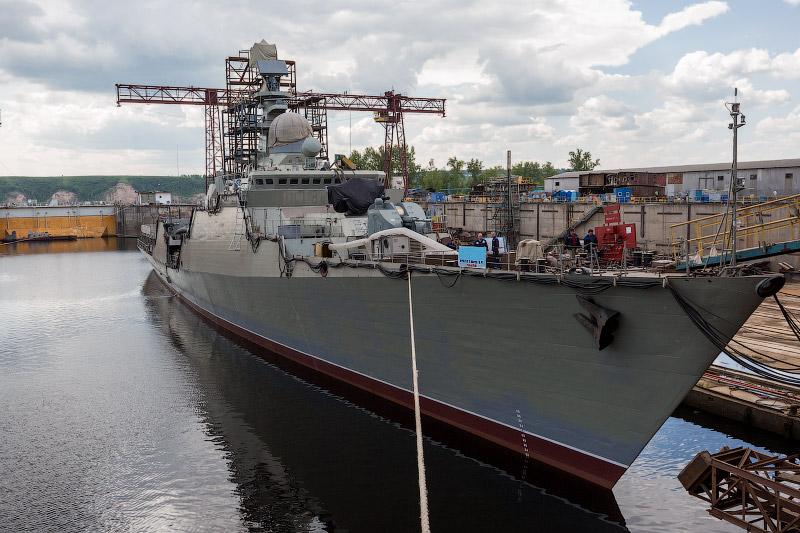 Как в Татарстане строят корабли. Зеленодольский завод имени А. М. Горького (28 фото)