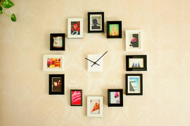 Ачто получится, если сложить часы ифотографии? Пожалуй, нечто замечательное! 20. Идея для обустрой