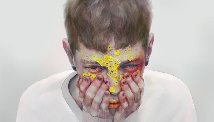 YDK Morimoe aka Xhxix - японский художник (а может художница - свой пол, имя и возраст он скрывает)