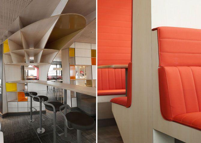 Пилотный ресторан с новым дизайном уже работает в городишке Вильфранш-де-Лораге на юге Франции, еще
