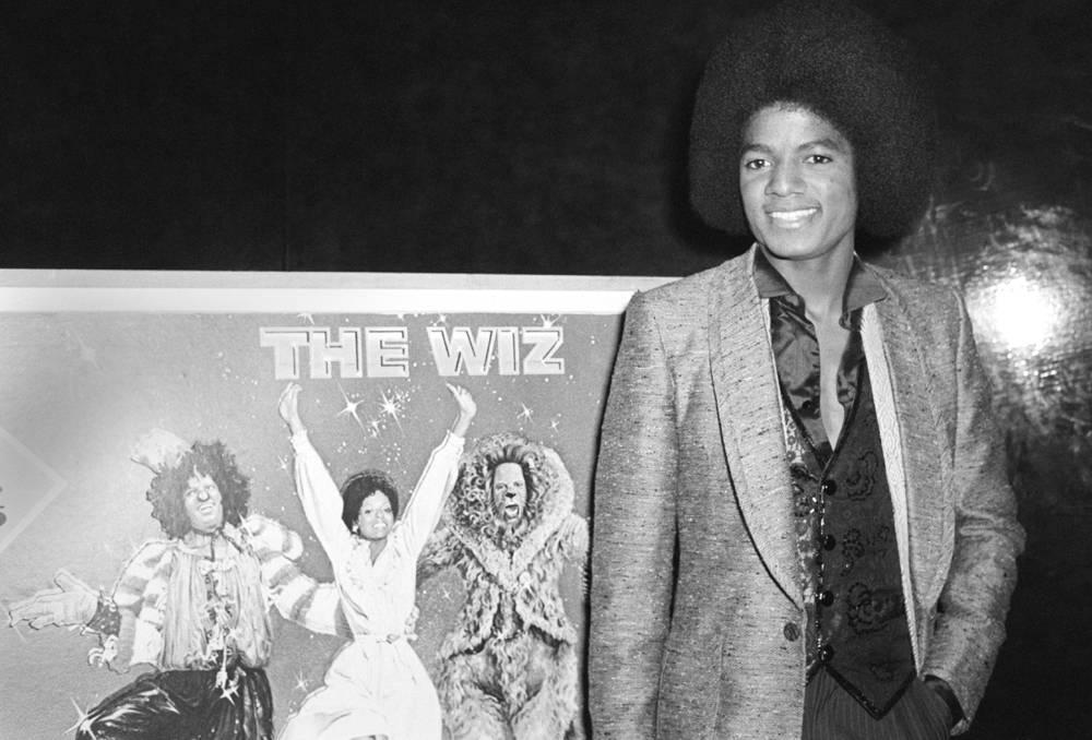Майкл Джексон на премьере мюзикла The Wiz. Этот мюзикл, появившийся на экранах в 1978 году, стал пер