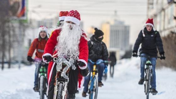 Вслед заМосквой вВолгограде пройдет зимний велопарад