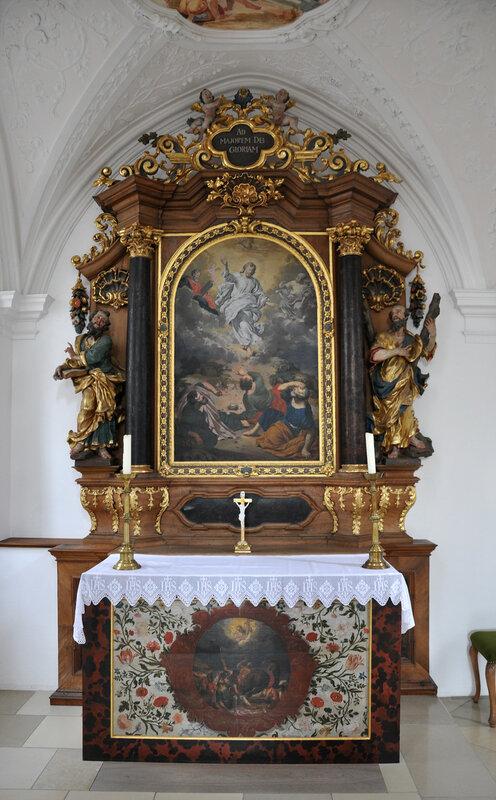 Buxheim Kartause Kirche Brüderchoraltar Nord