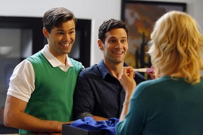 Тренд сезона! Семьи гомосексуалистов в телесериалах   сразу после каннабиса
