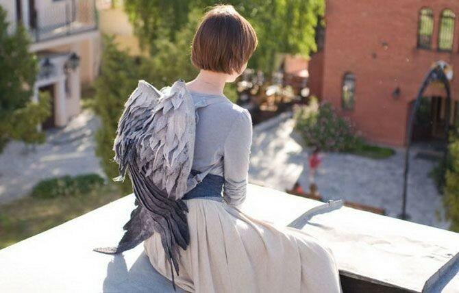 Дизайнер Ольга Котова: рюкзаки с крыльями