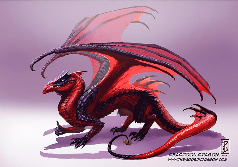 Deadpool Dragon