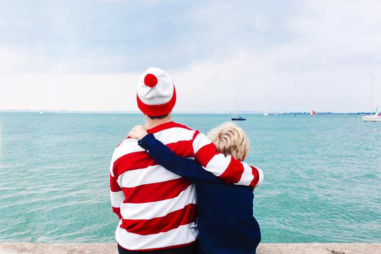 An Instagram guy who knows Where's Waldo!