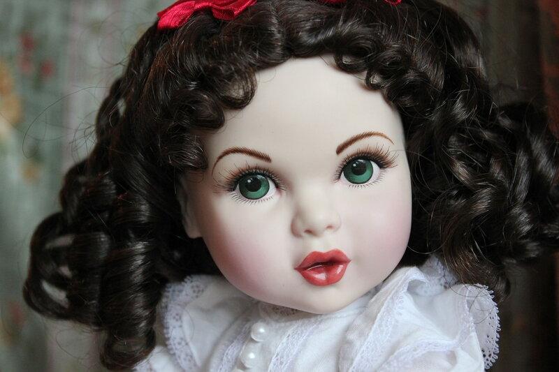 Куклы из наших коллекций №1.Фарфоровые красавицы