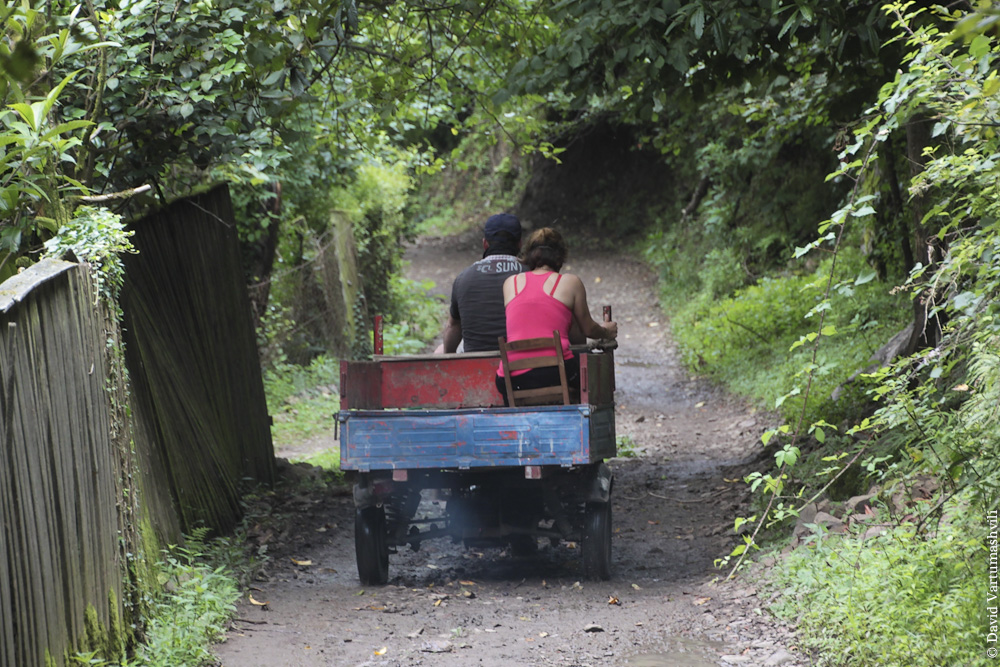 Ущелье реки Мачахела, Мирвети
