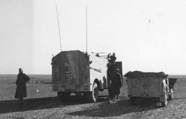 Nordafrika, Befehlswagen von Generaloberst Rommel