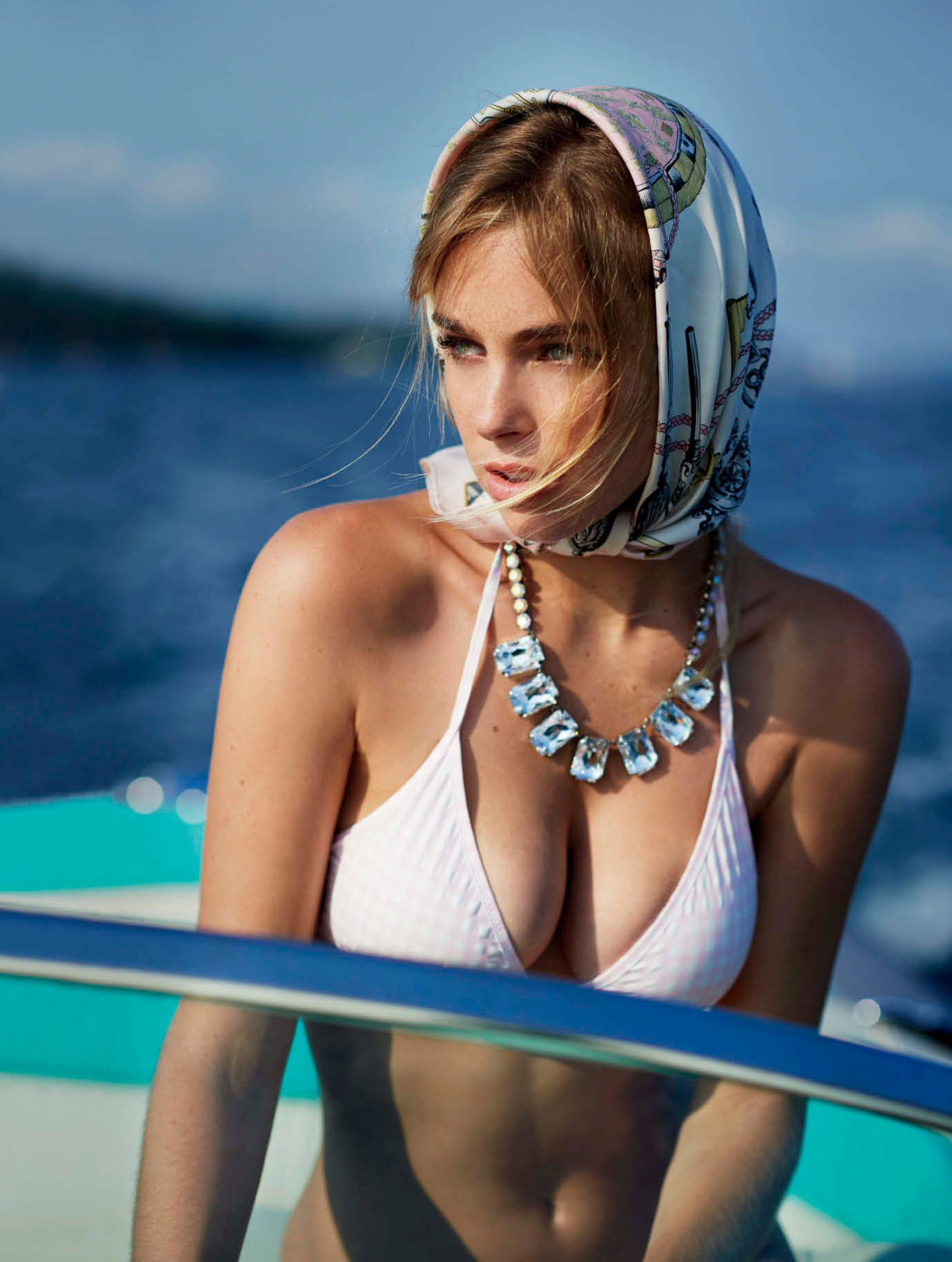 Elizabeth Turner / Элизабет Тернер в журнале Maxim US september 2016 / photo by Gilles Bensimon