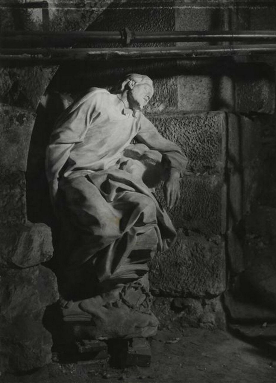 1945. Христос в агонии, подвал  церкви Святого Роха