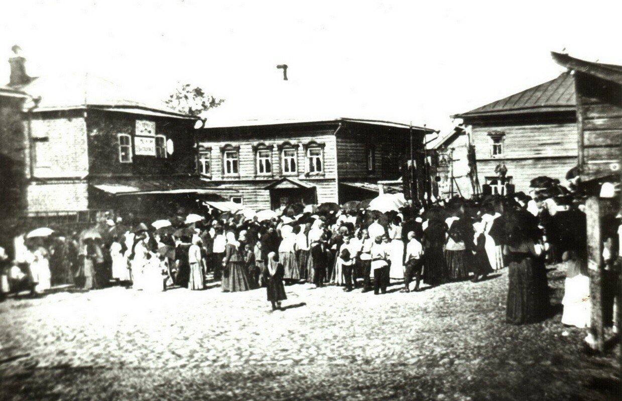 Центральная площадь в Больших Солях