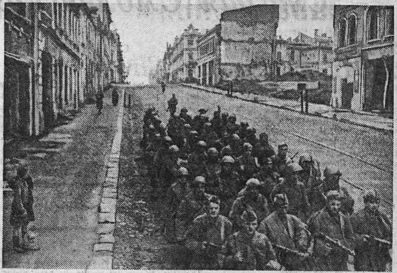 оккупация Смоленска, освобождение Смоленска, немецкая оккупация
