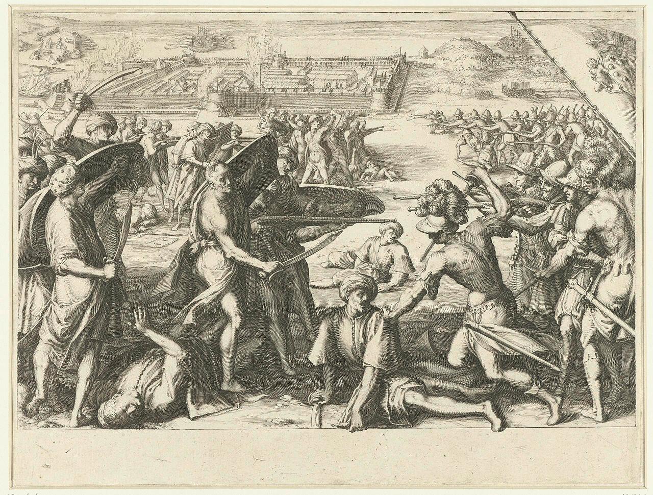 1280px-Aanval_van_de_troepen_van_Ferdinando_I_de'_Medici_op_de_forten_bij_de_Noord-Afrikaanse_stad_Bone_(Annaba)_() жак калло 1614-20.jpg
