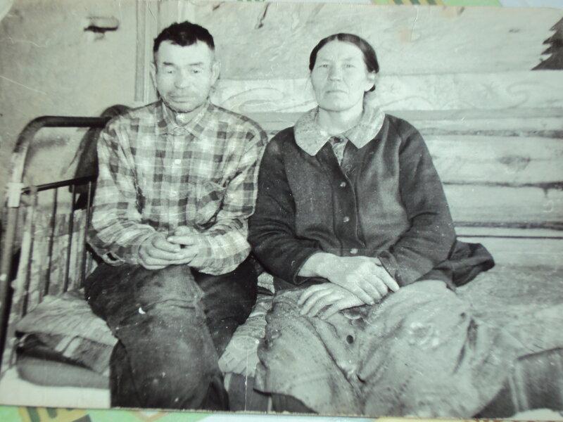 Фотопортрет родителей. Татарская АССР