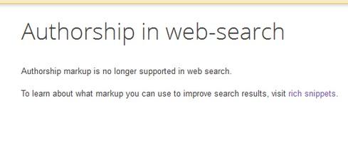 Google перестал поддерживать указание авторства в результатах выдачи