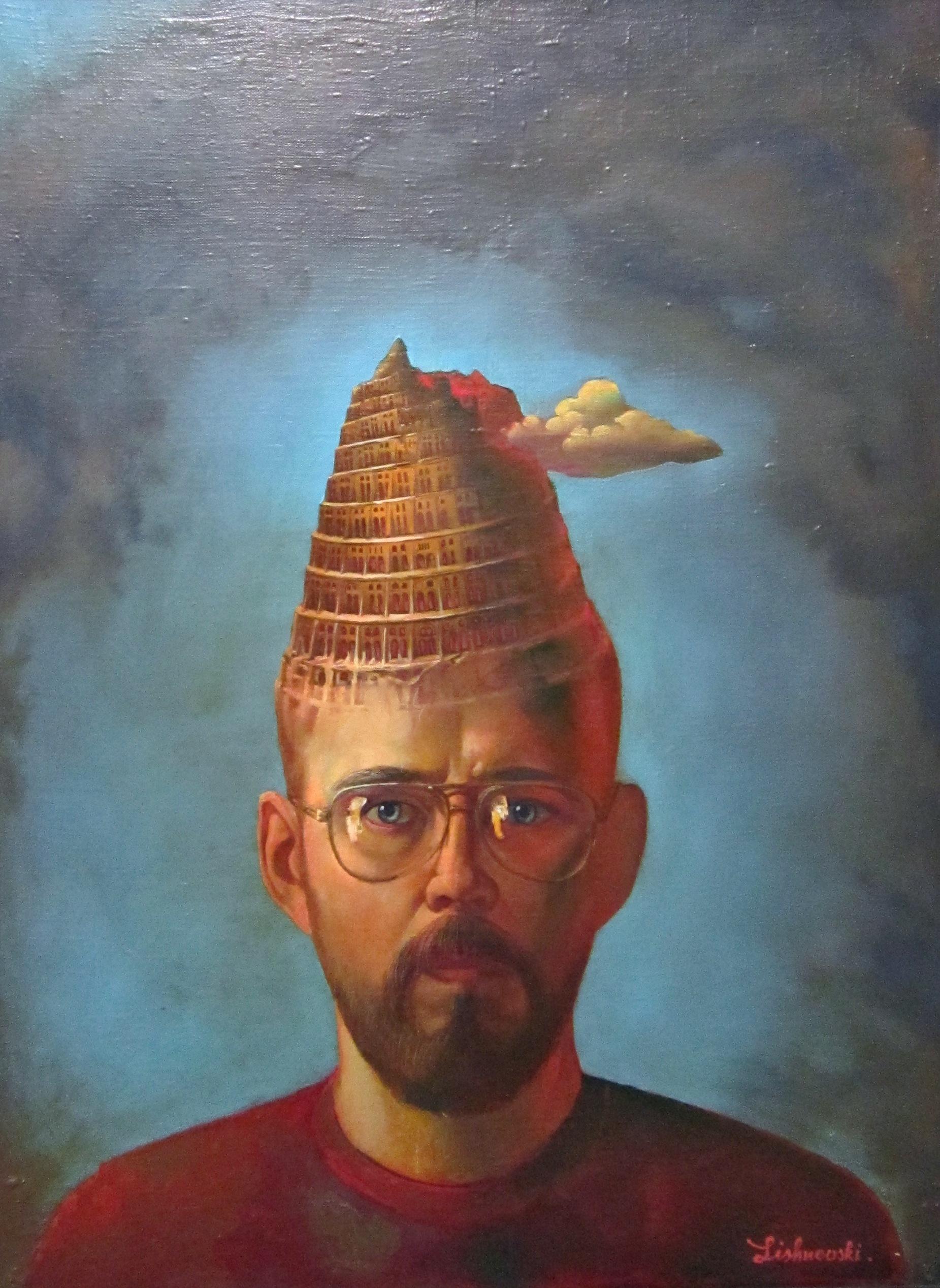 Александр,Александрович Лишневский (род. в 1958 году). Автопортрет. 2000 год.