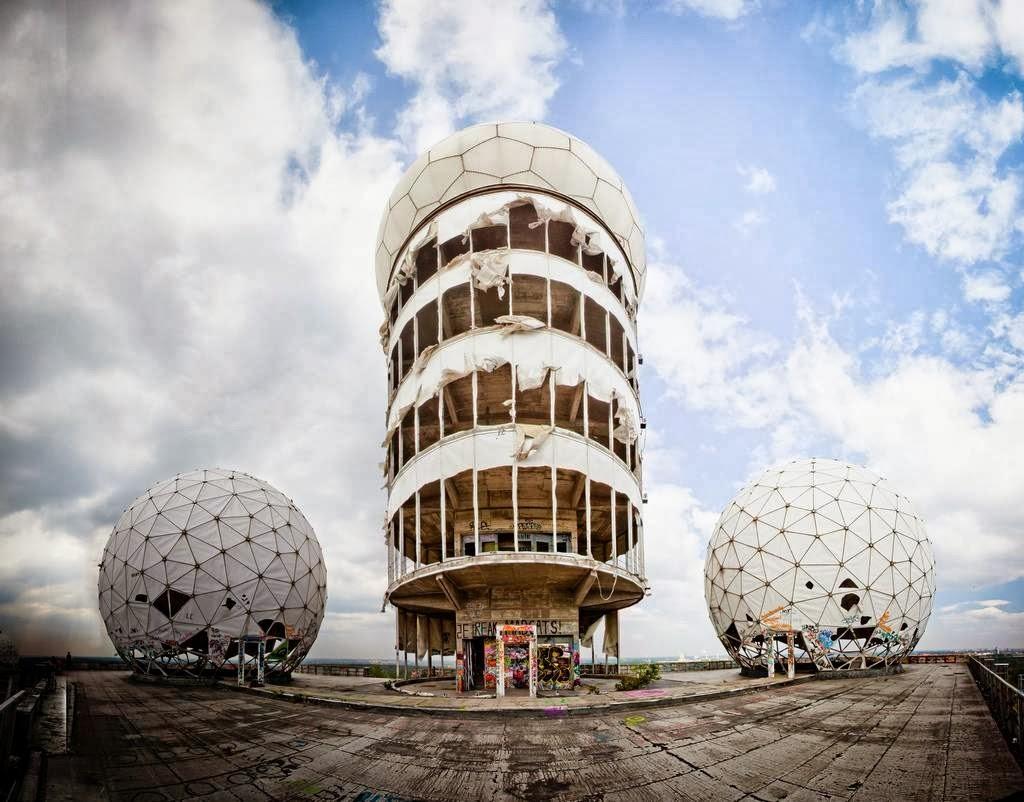 Заброшенная станция радиоэлектронной разведки в Берлине
