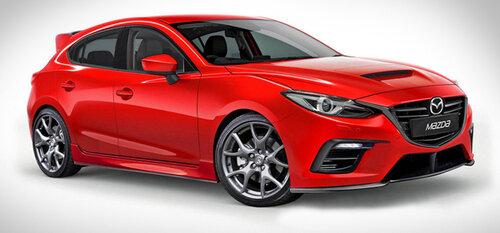 Полноприводная Mazda 3 MPS увидит свет в 2017 году