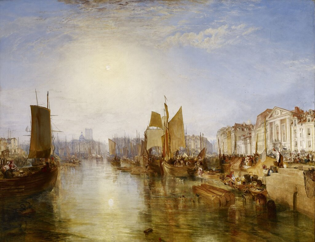 The Harbor of Dieppe, 1826.jpg