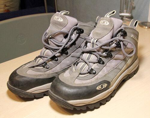 627d500df Женские трекинговые ботинки Salomon почти новые, в походе не были, немного  по городу, состояние отличное 1000 р. по стельке 24 см, мне на 38 размер ...