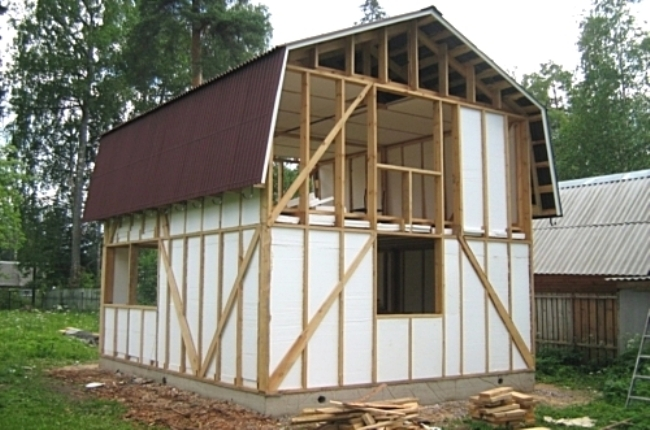 Как быстро построить каркасный дом своими руками