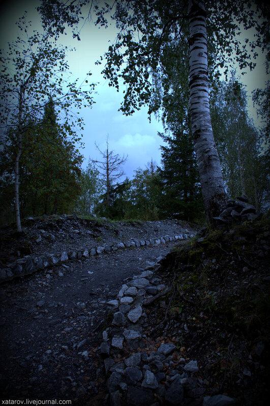 Мраморный карьер Рускеала