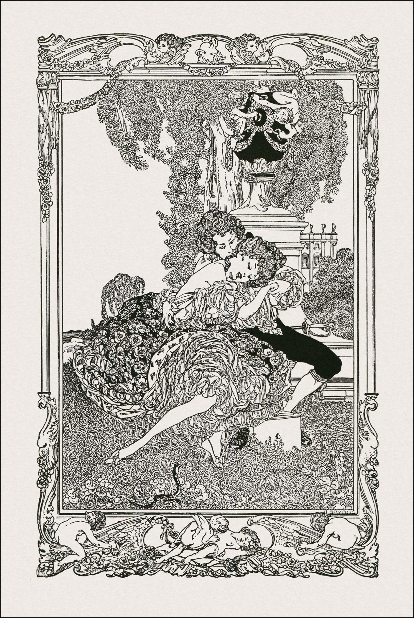 Franz von Marquis Bayros, Erinnerungen aus galanter Zeit