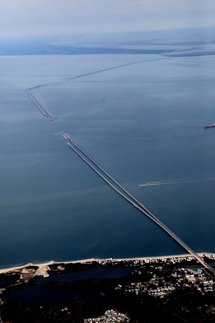 Фото: Chesapeake Bay Bridge-Tunnel / Facebook.com