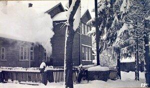 Вид дома, где размещалась автомобильная команда штаба XII армии.