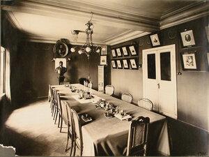 Вид части зала Совета Управления Северо-Западной железной дороги.