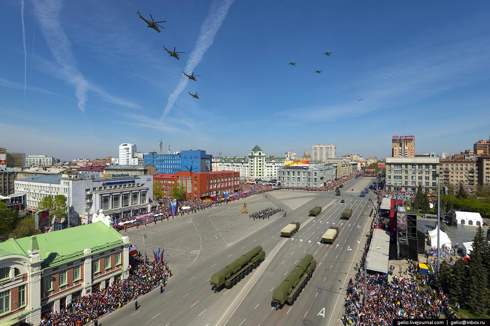 Празднование 70-летия Великой Победы в Новосибирске
