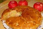 Медовый пирог с яблоками