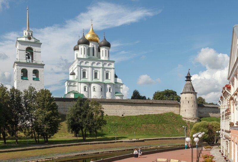 Троицкий собор и Кром, Псков