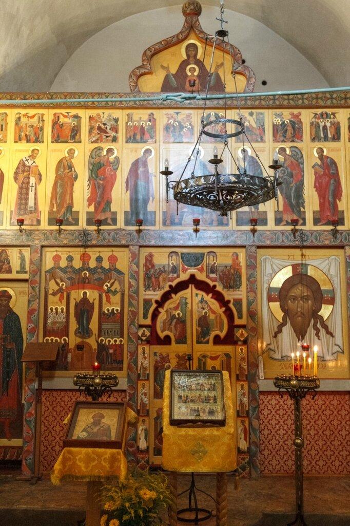 Иконостас Церкви Покрова и Рождества Богородицы от Пролома