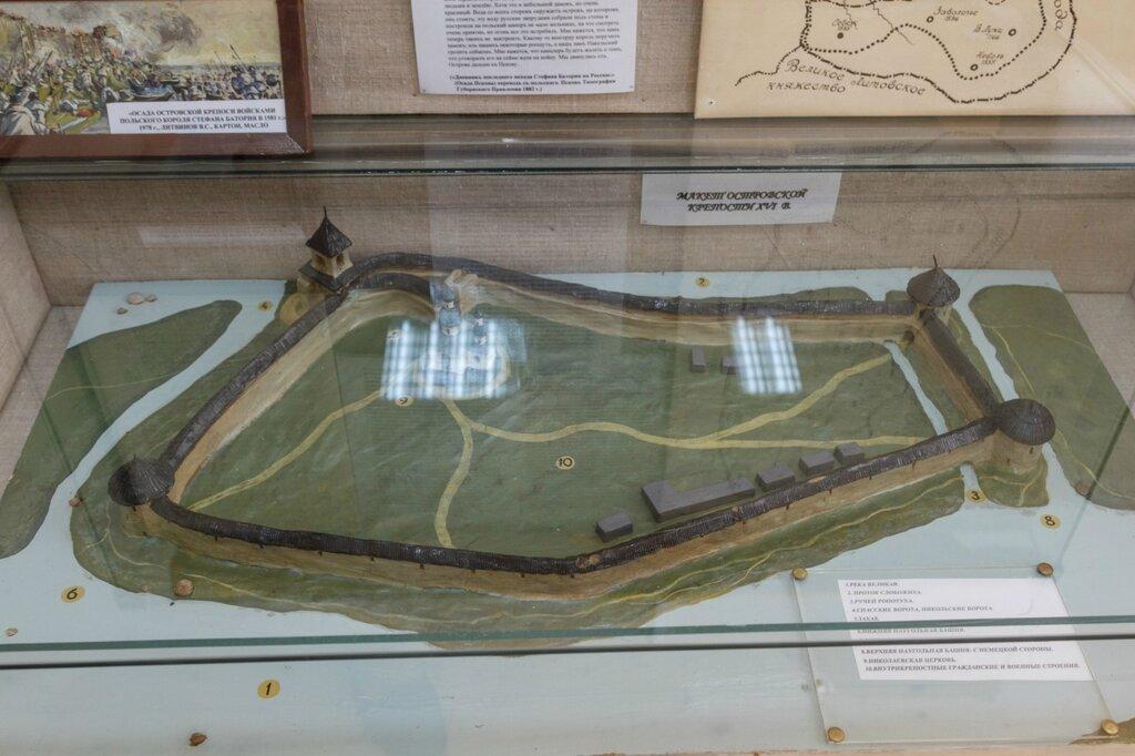 Реконструкция крепости Остров