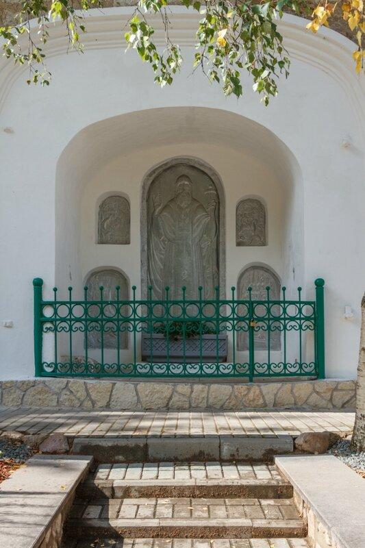 Место убийства Корнилия Псково-Печерского