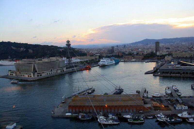 Барселонский порт