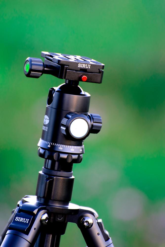 Фото 10. Вот как размывает фон телеобъектив Никон 70-300 при съемке на полнокадровую зеркалку Nikon D610. Головка G20-KX штатива Sirui